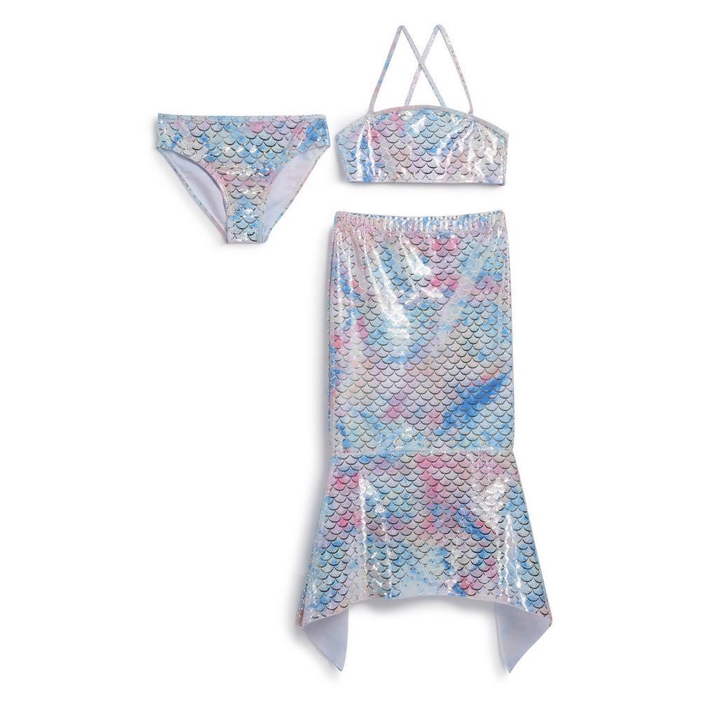 comprar popular 5cd84 bfaad Older Girl 3Pc Mermaid Bikini | Girls Wear | Kids ...