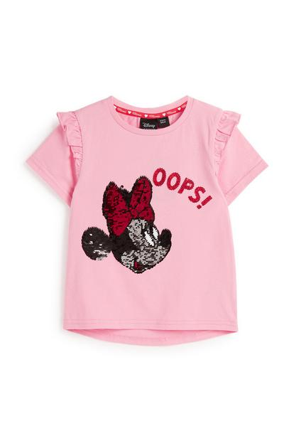 Younger Girl Minnie Mouse T-Shirt