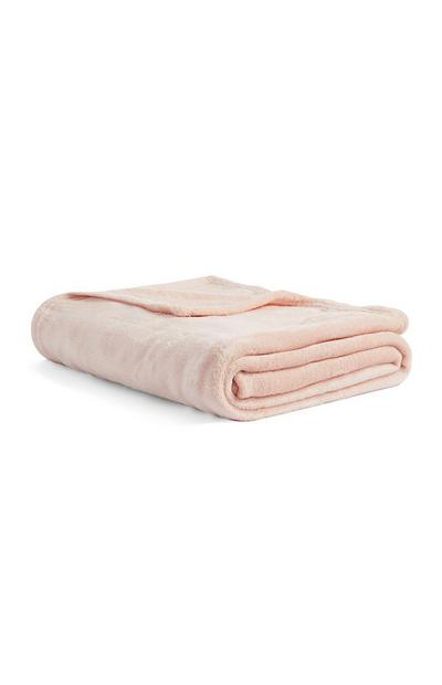 Pink Small Throw