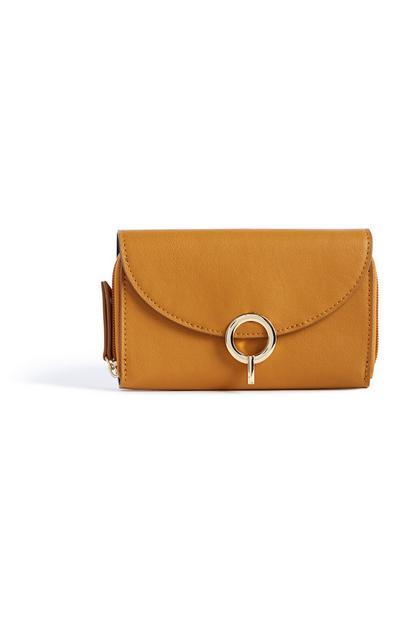 Mustard Clutch Bag