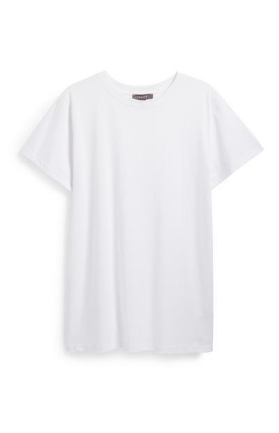 White Oversized T-Shirt