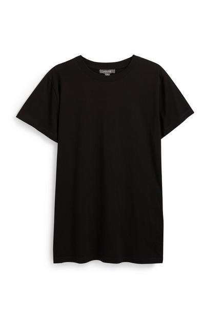Black Oversized T-Shirt