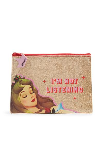 Disney Princess Glitter Pencil Case