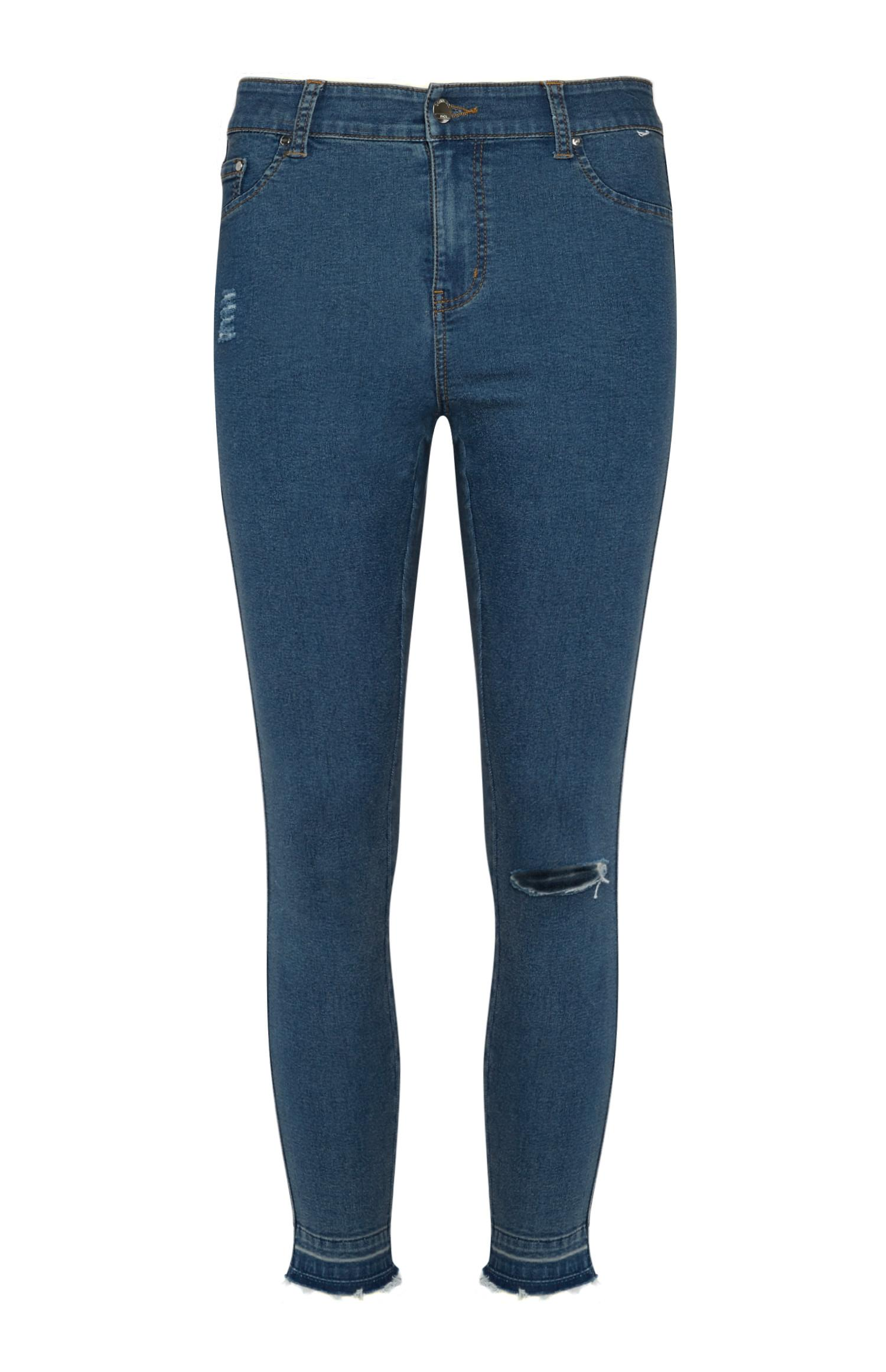 Jeans skinny blu medio