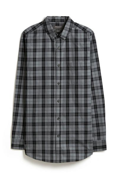 Grey Check Shirt