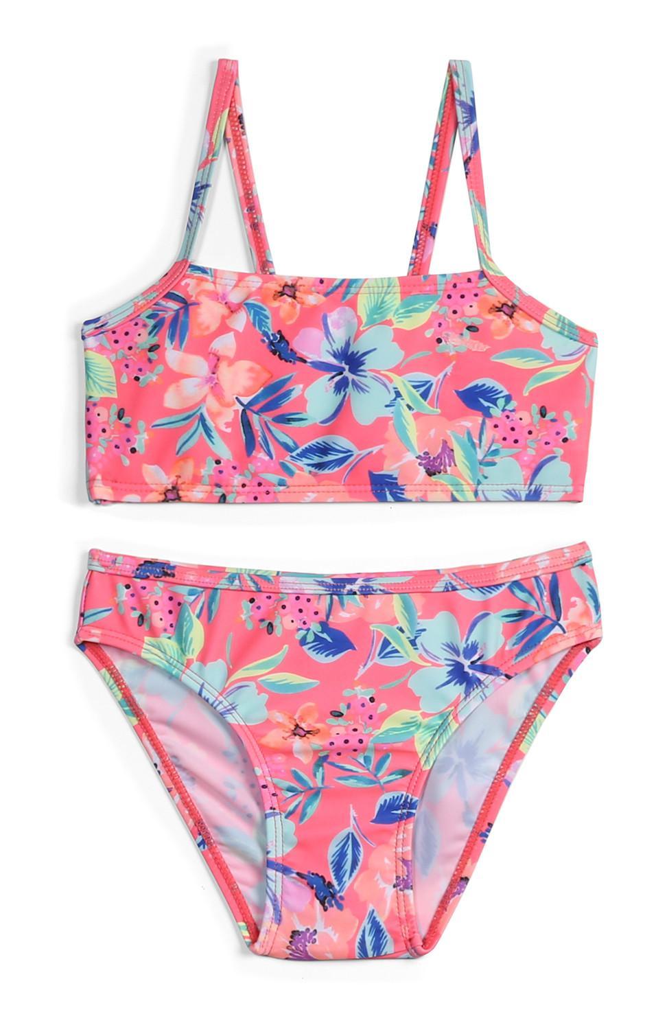 Bikini a fiori da bambina