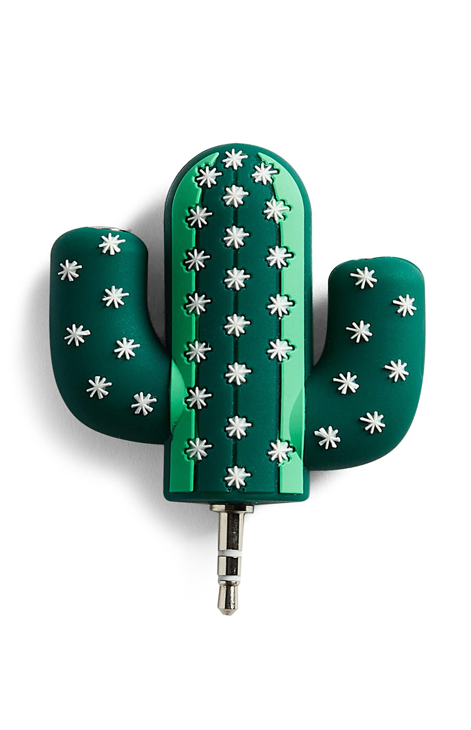 Cactus Earphone Splitter