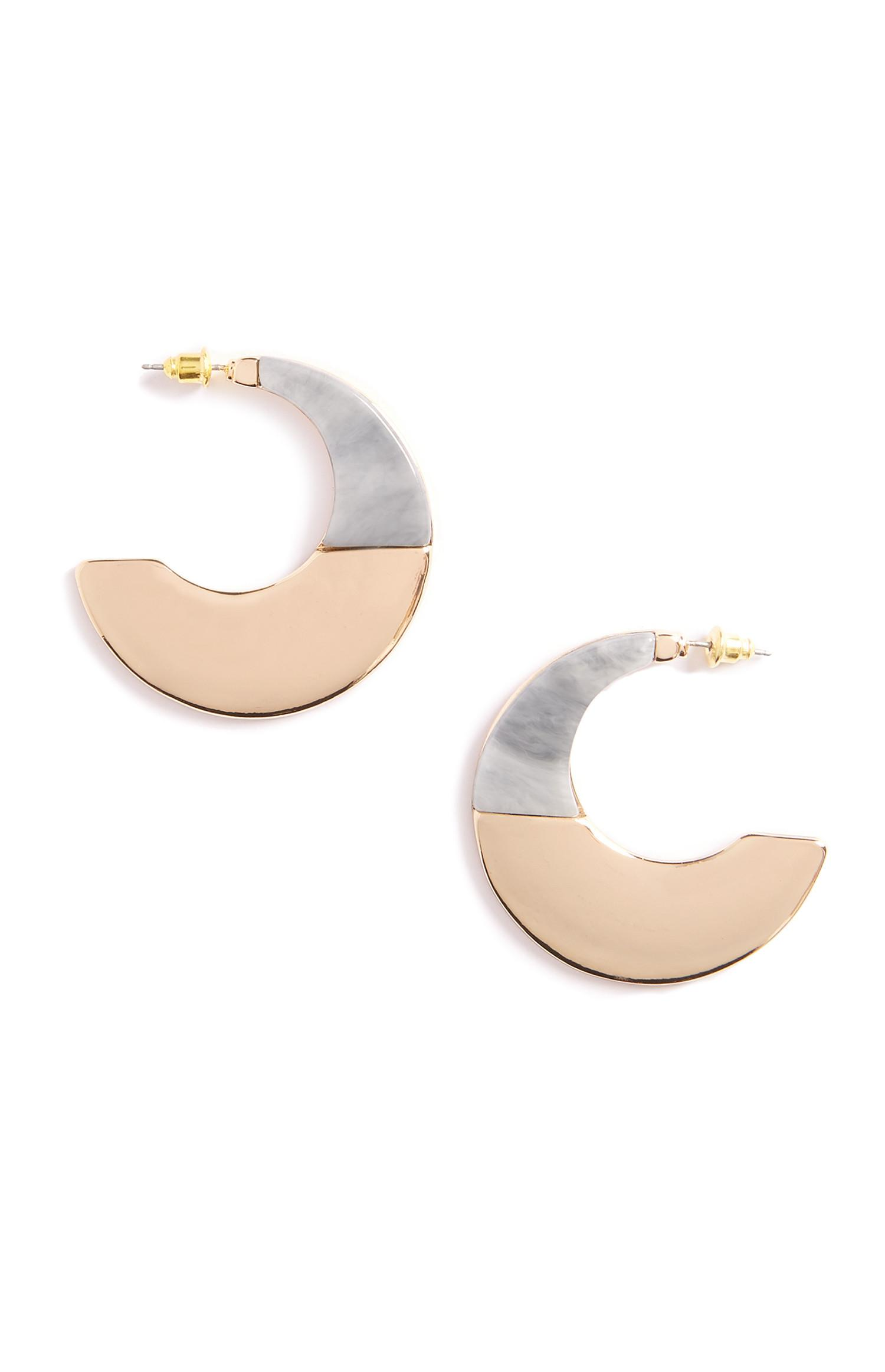 Moon Stone Earrings