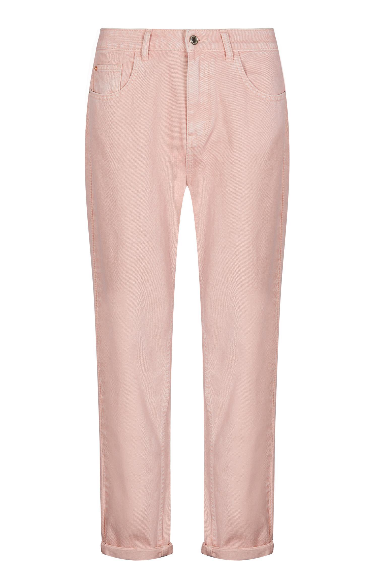 Pink Mom Jean