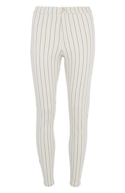 Stripe Skinny Trouser