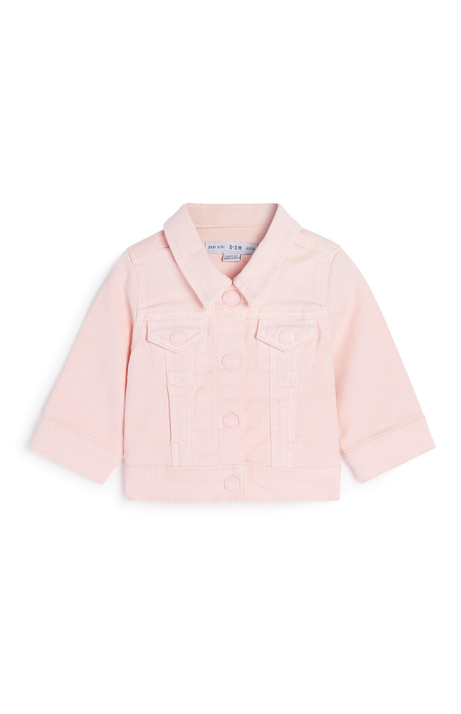 Baby Girl Pink Denim Jacket