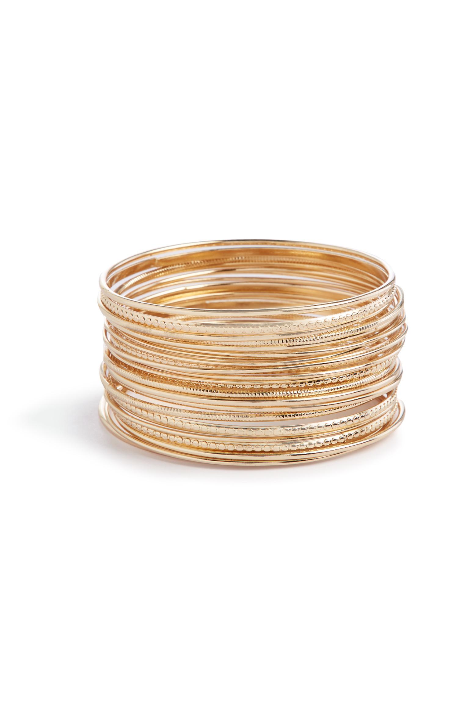 Gemengde armbanden, set van 24