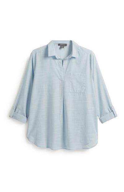 Blue Tunic Shirt