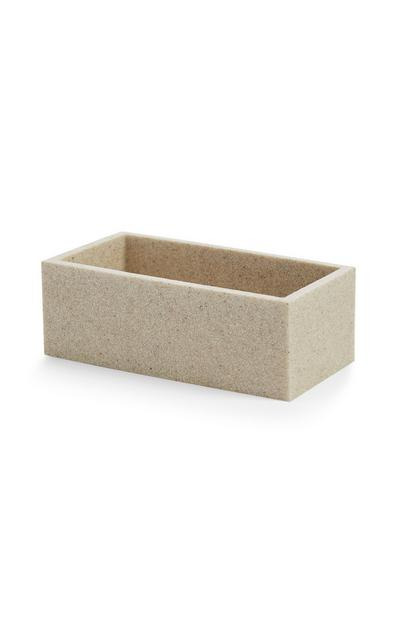 Stone Effect Storage Box