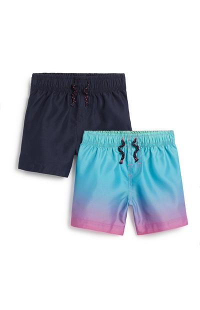 Baby Boy Swim Short 2Pk