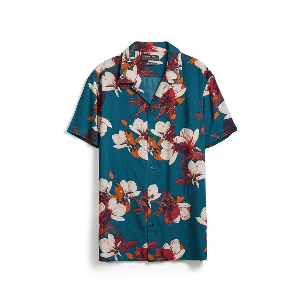 big sale aabe4 56375 Hemd mit Blumenprint | Kurze Ärmel | Hemden | Herren ...