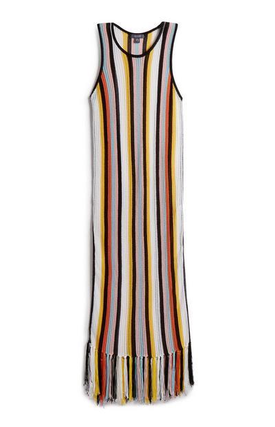 Stripe Swim Knitted Dress