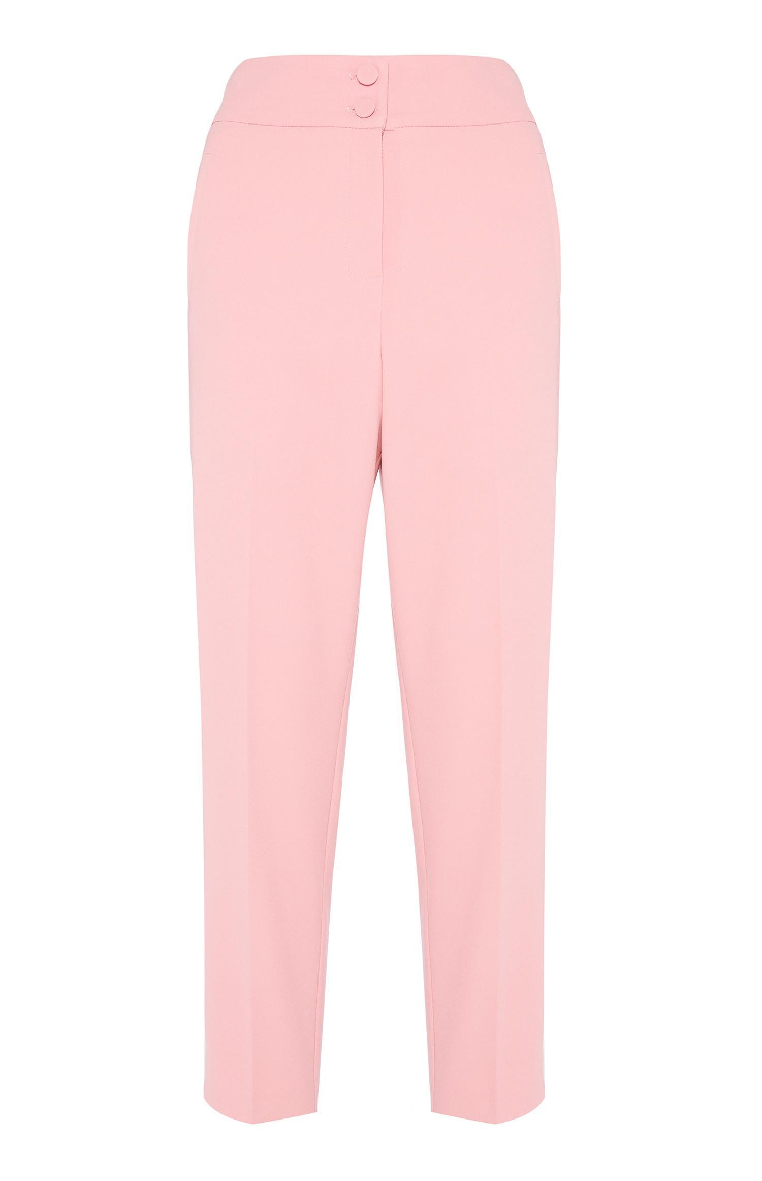 Pink Slim Trouser