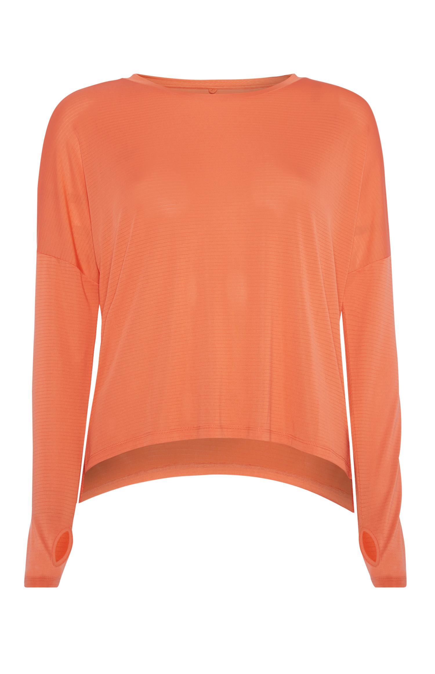 Oranje T-shirttop