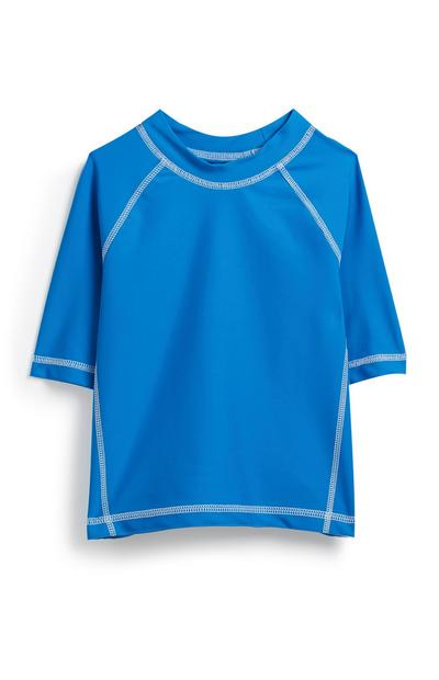 Younger Boy Blue Sunsafe Top