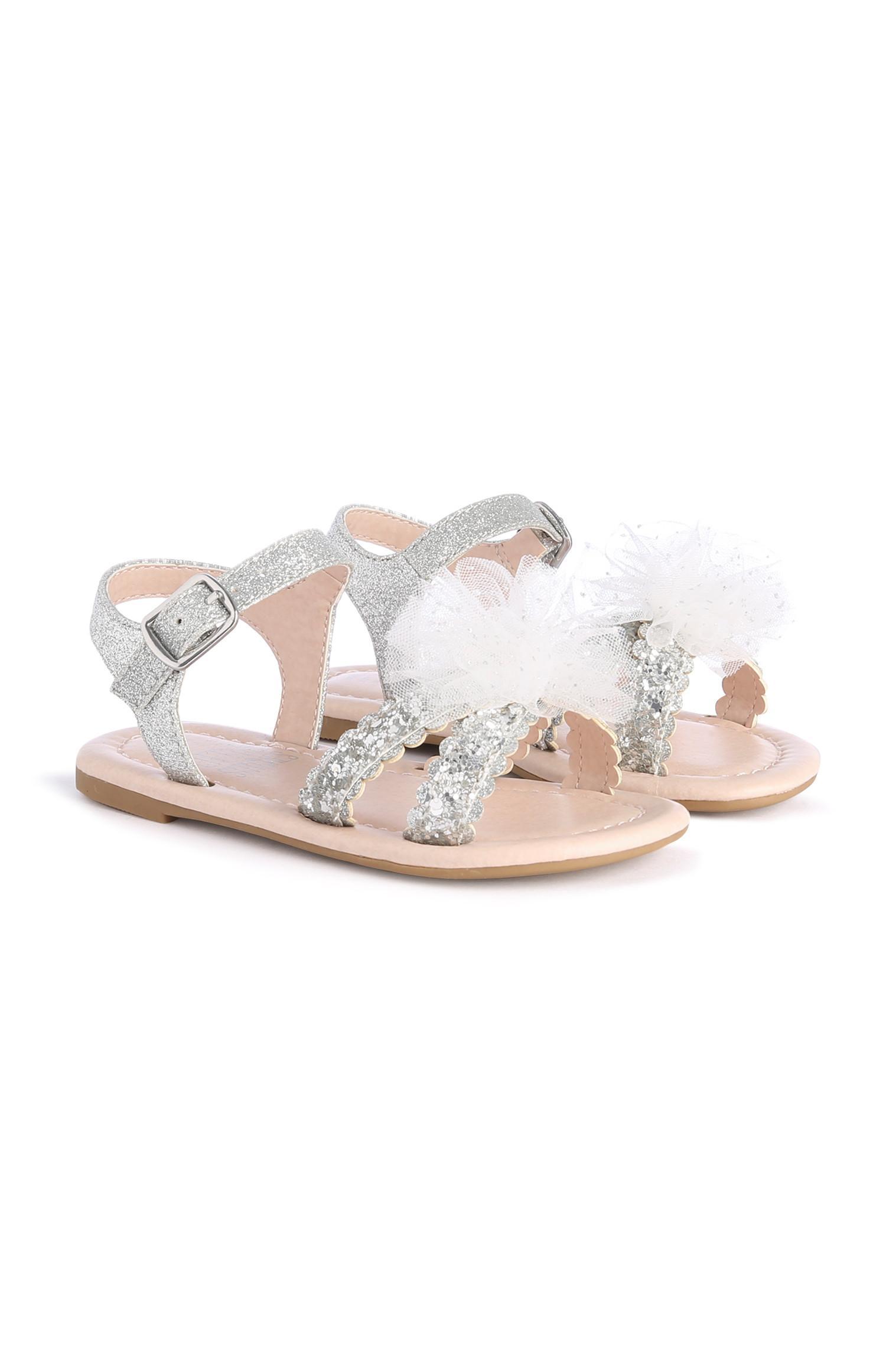 Younger Girl Silver Sandal