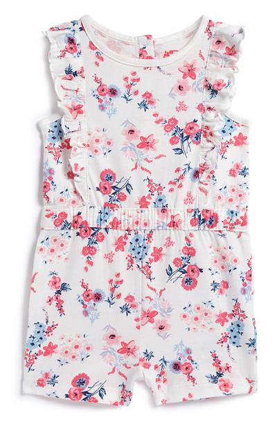 Baby Girl Frill Playsuit