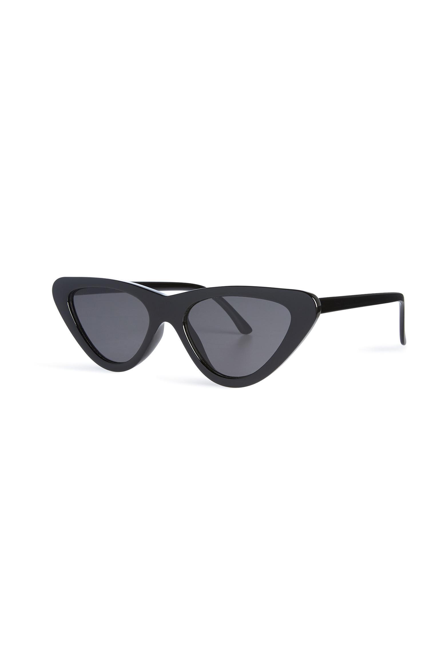 Óculos de sol olhos de gata preto
