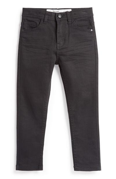 Schwarze Skinny Jeans (kleine Mädchen)