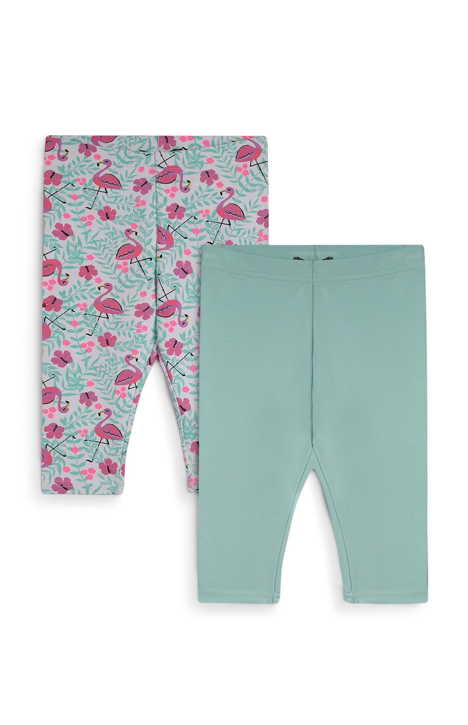 Pack de 2 leggings cortos