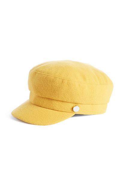 Mustard Bakerboy Hat