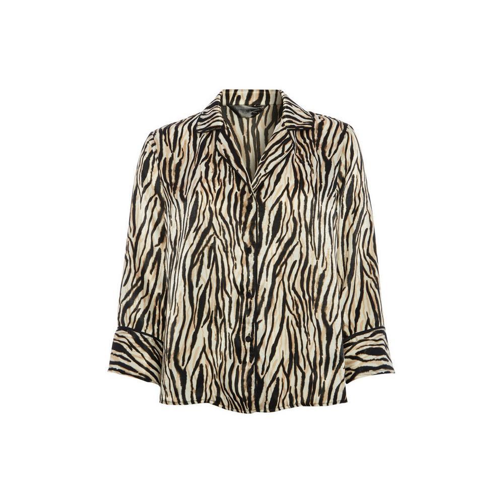 8ca8ae68b2d4a7 Animal Print Blouse | Set | Pyjamas | Womens | Categories | Primark USA