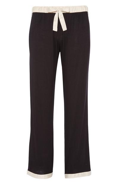 Black Pyjama Trouser