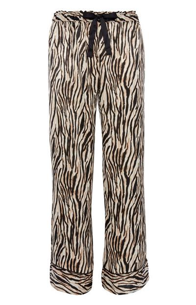 Animal Print Pyjama Trouser