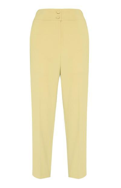 Yellow Slim Trouser