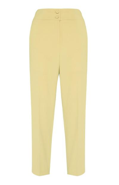 Yellow Slim Trouser