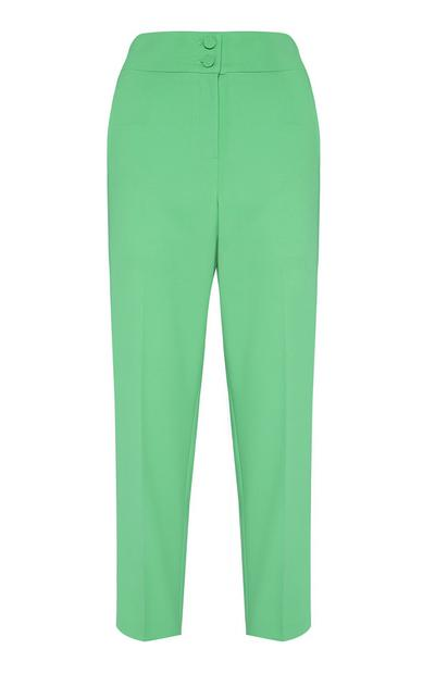 Green Slim Trouser