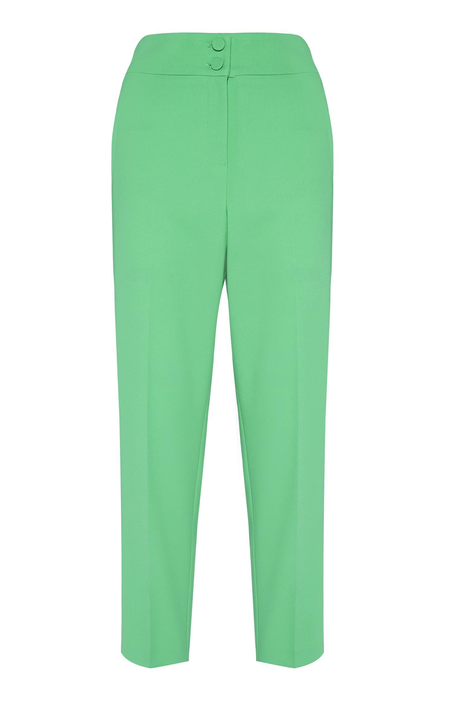 Green Slim Trouser