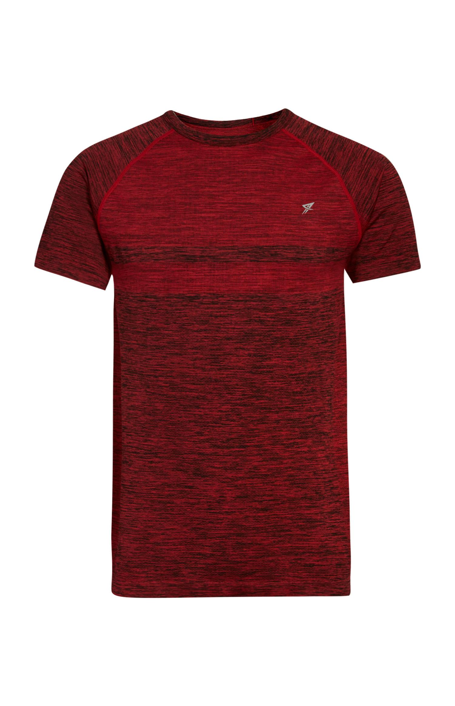 T-shirt desportiva vermelha