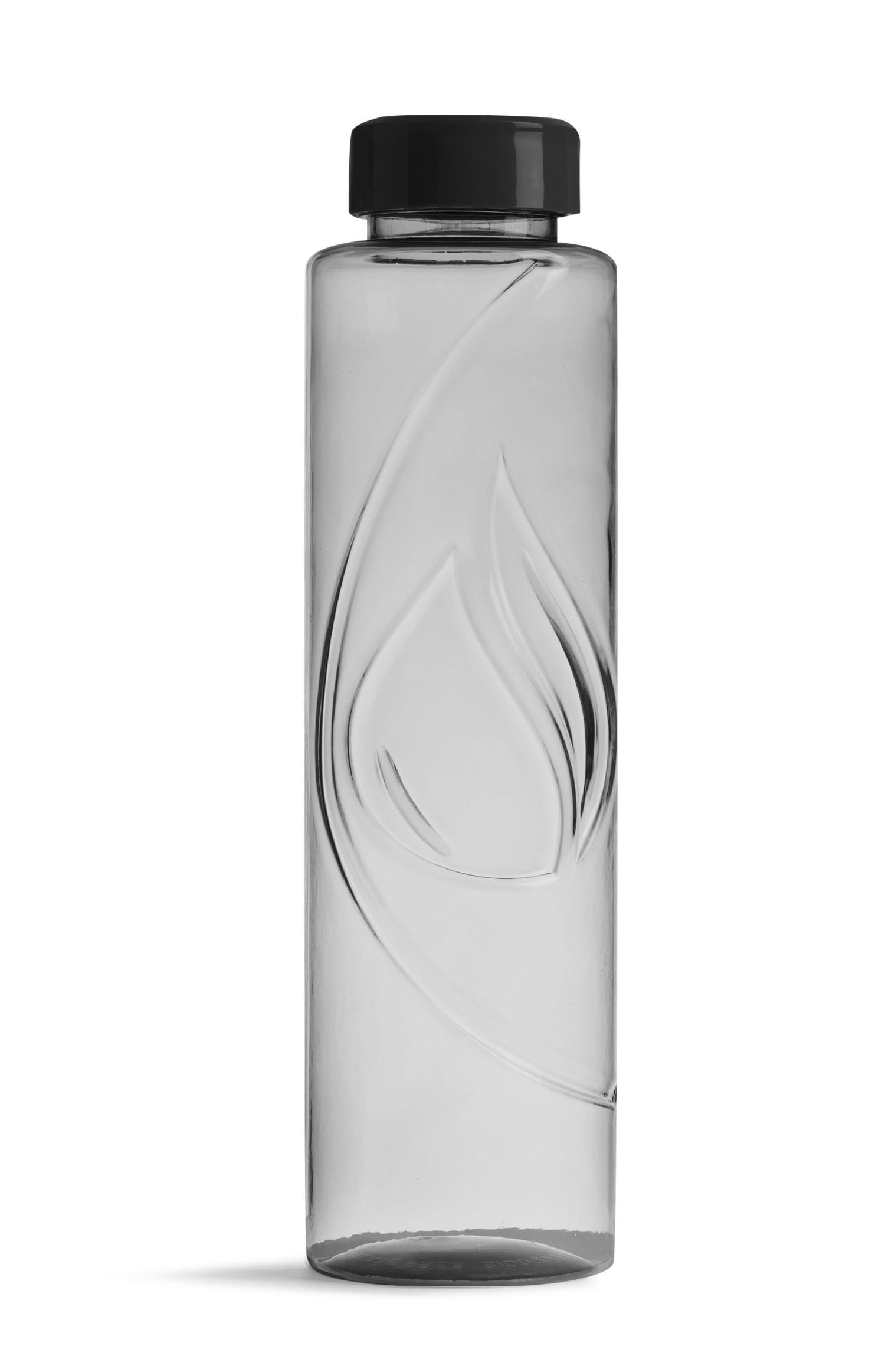 Garrafa biodegradável cinzento