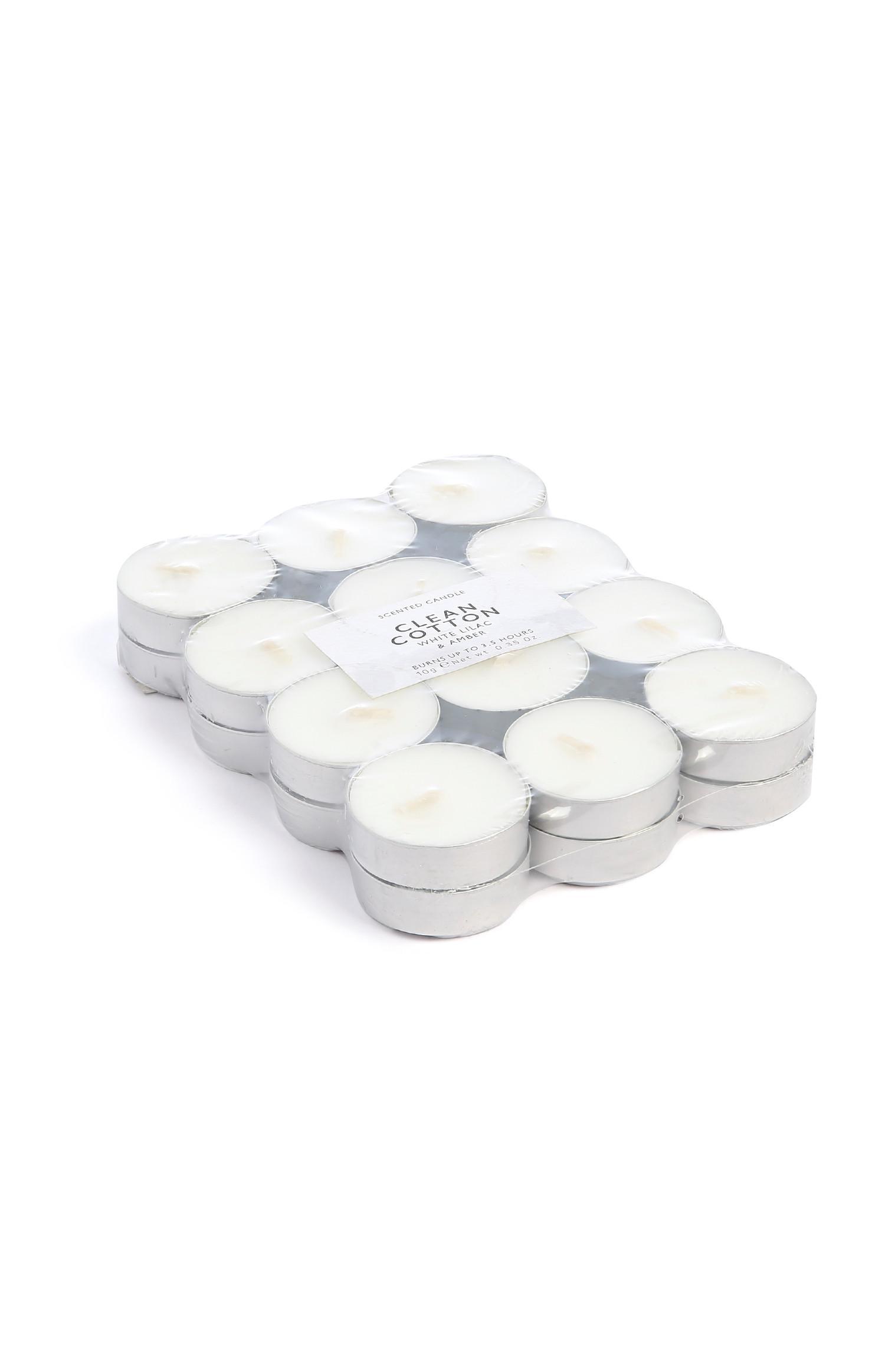 Bougies chauffe-plats Clean Cotton
