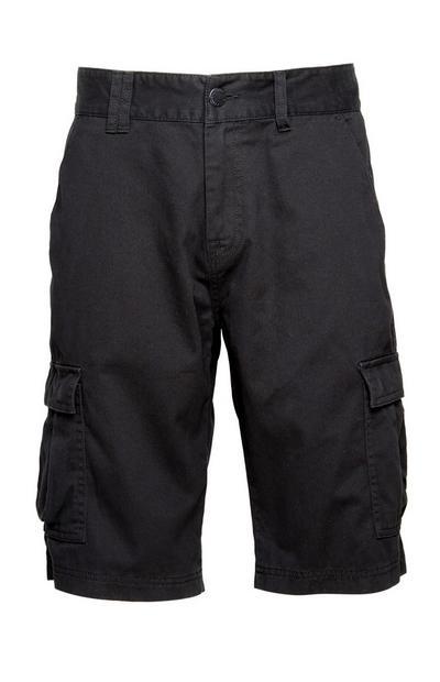 Black Cargo Short