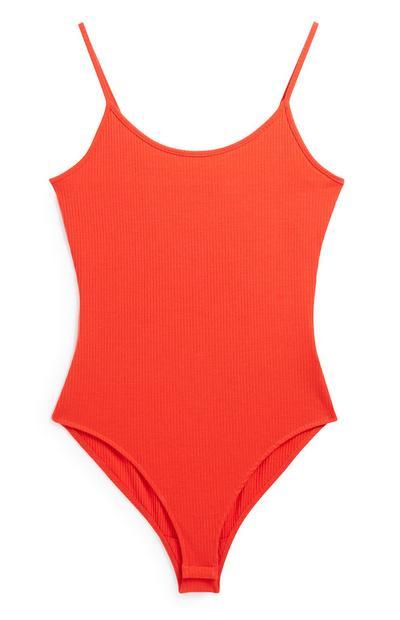 Red Cami Bodysuit