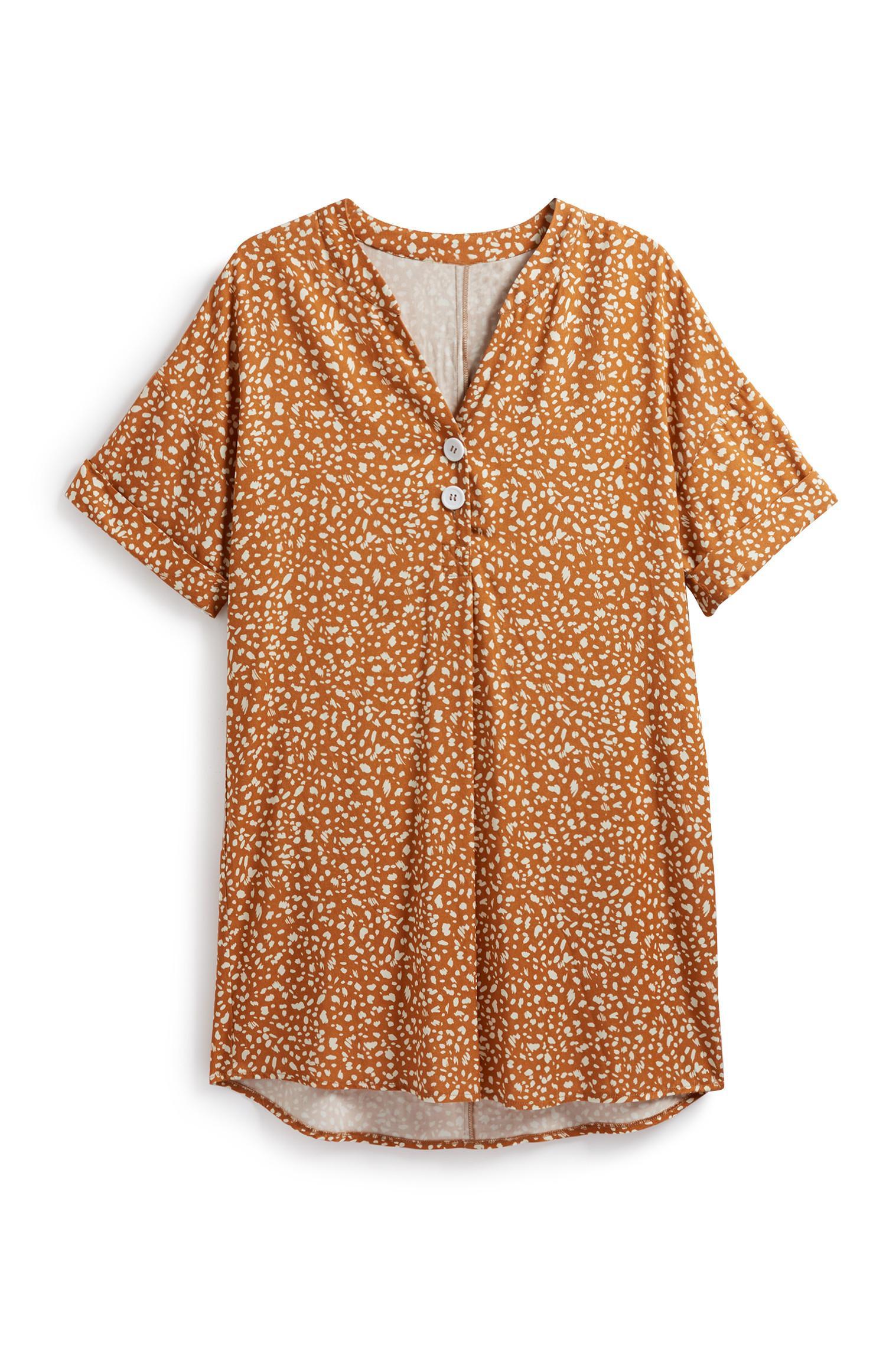 Pattern Tunic Top