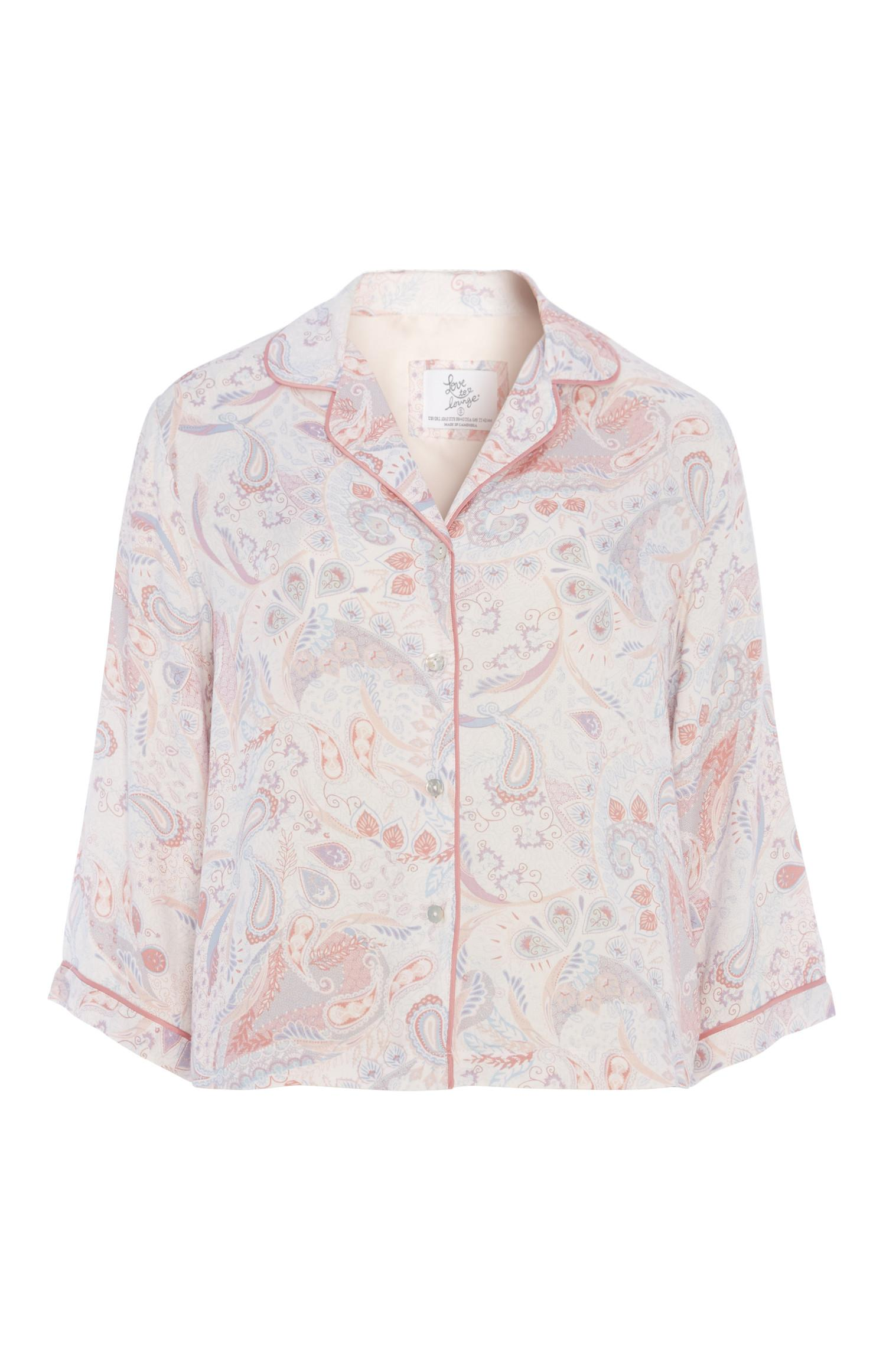 Paisley Pyjama Shirt