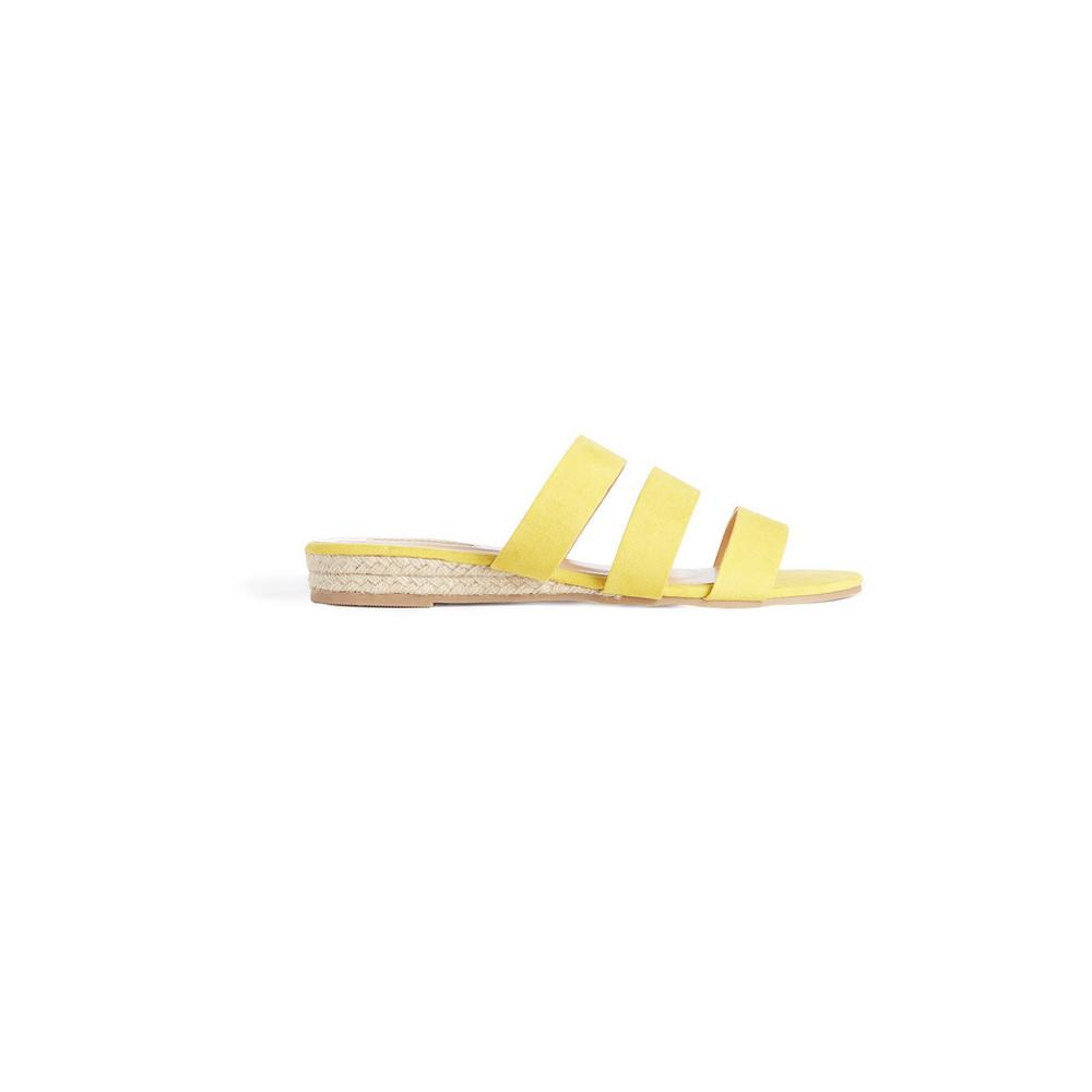 lowest price delicate colors new lower prices Yellow Strap Sandal | Sandals | Shoes & Boots | Womens ...