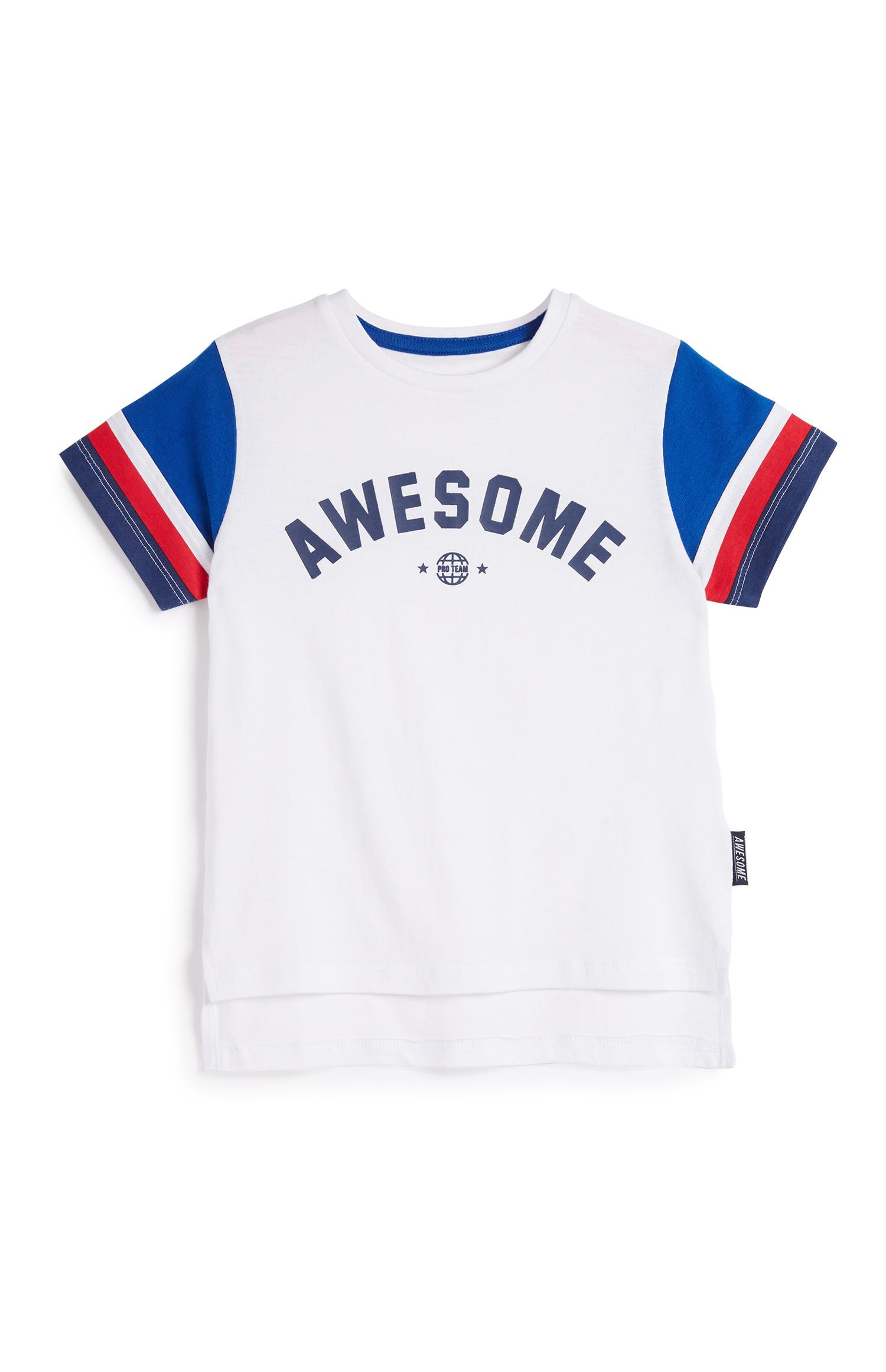 Younger Boy Awesome T-Shirt