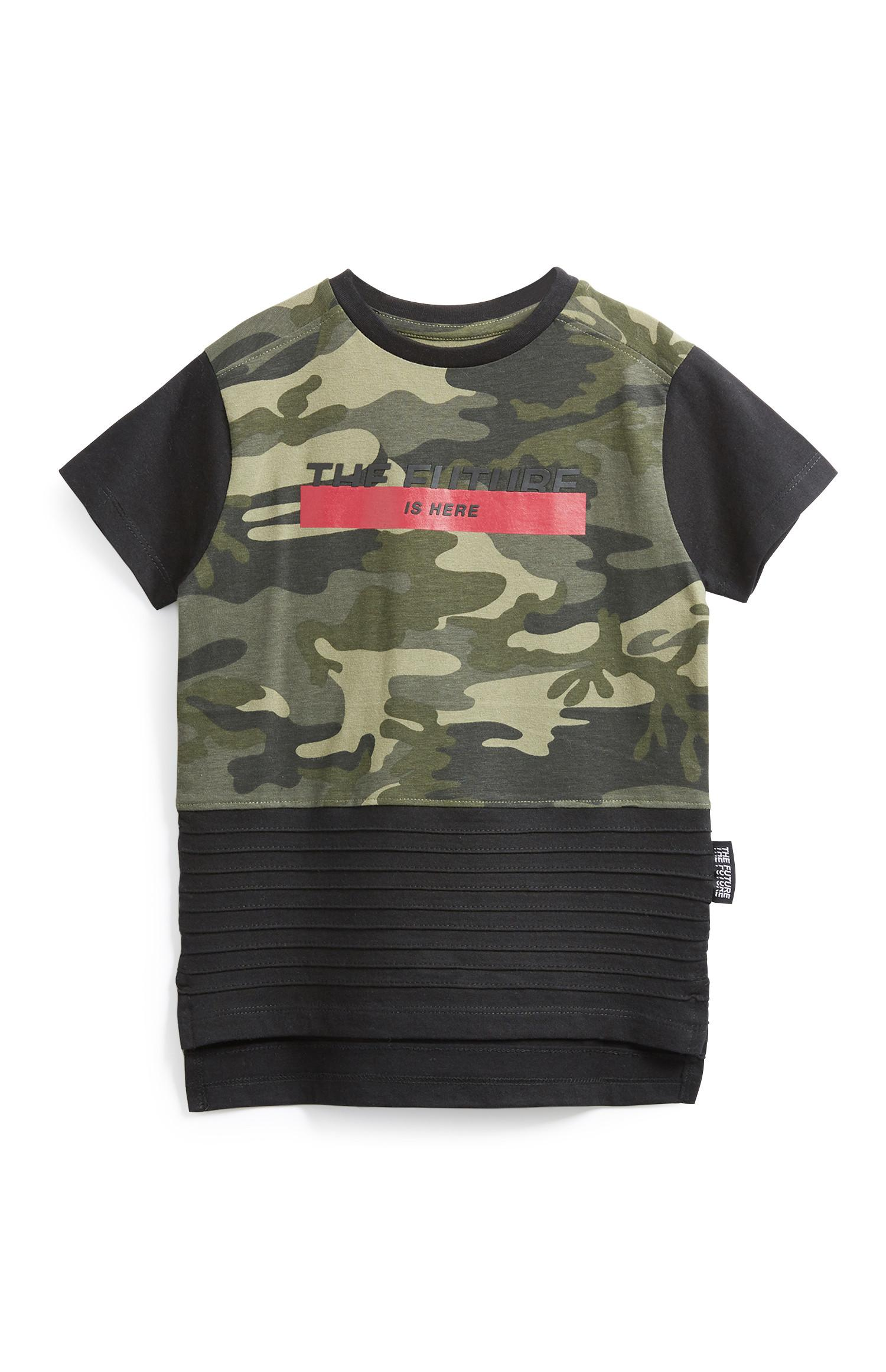 Younger Boy Camo T-Shirt