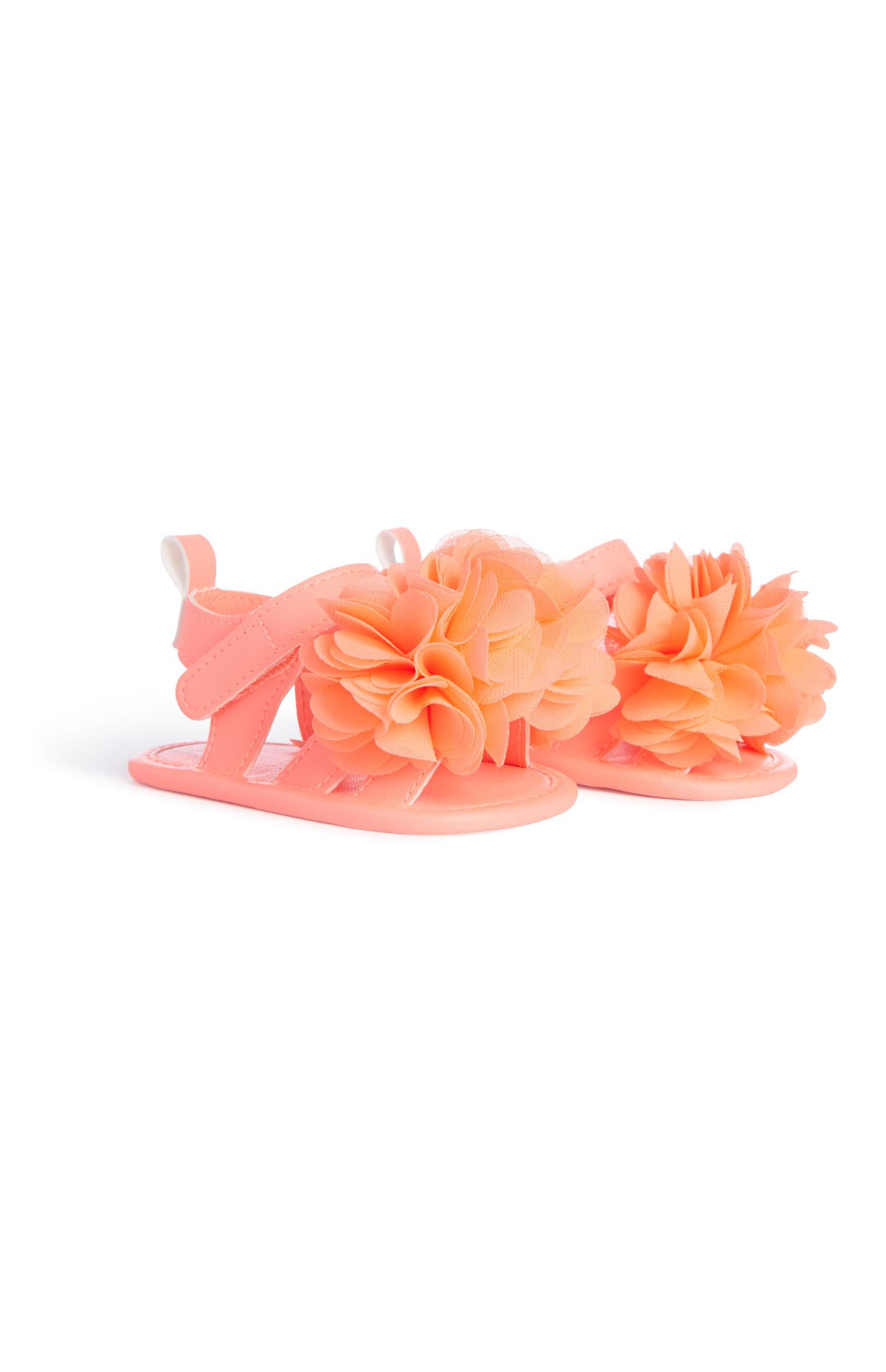 Baby Girl Flower Sandals