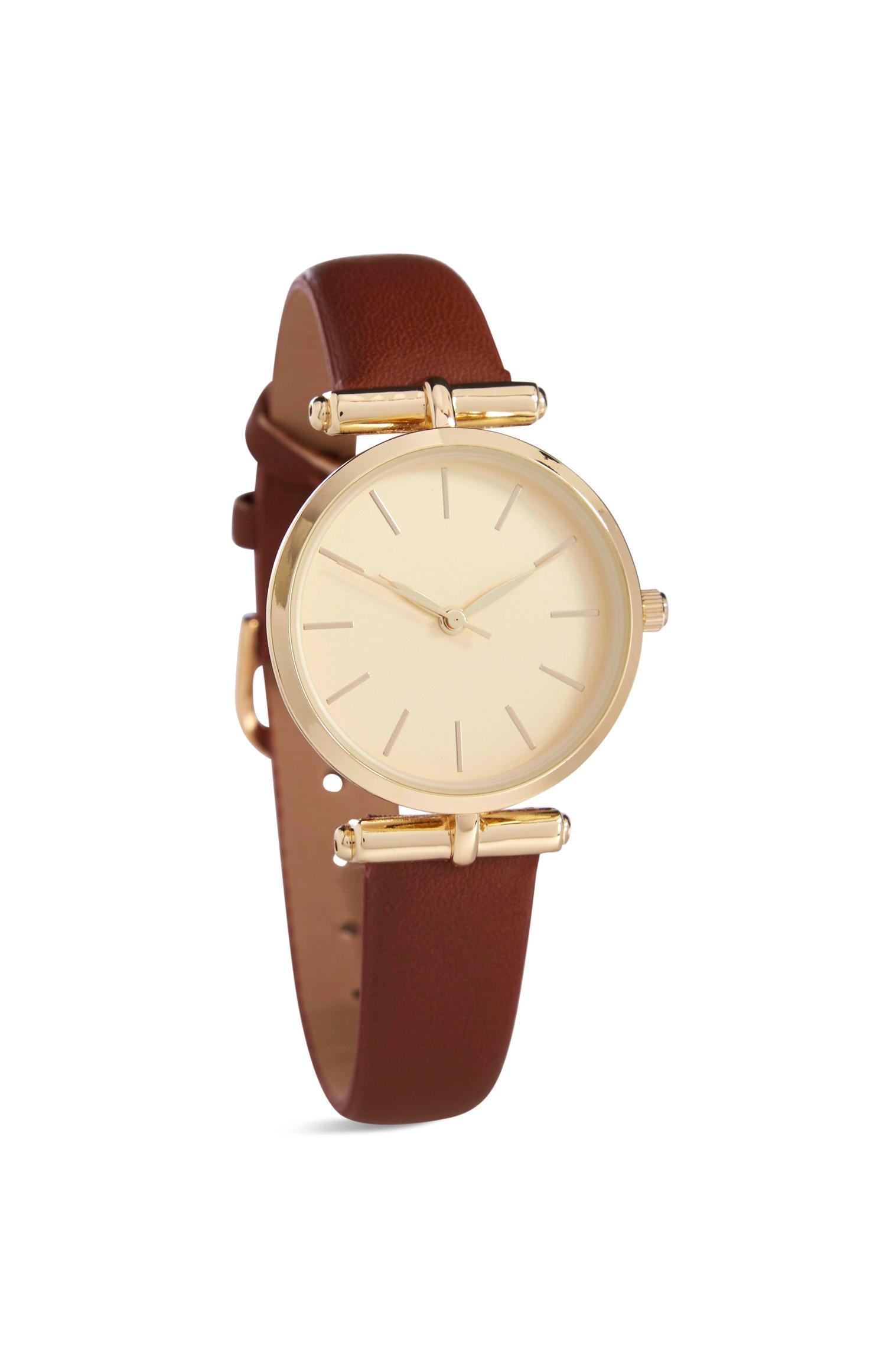 Bruin horloge