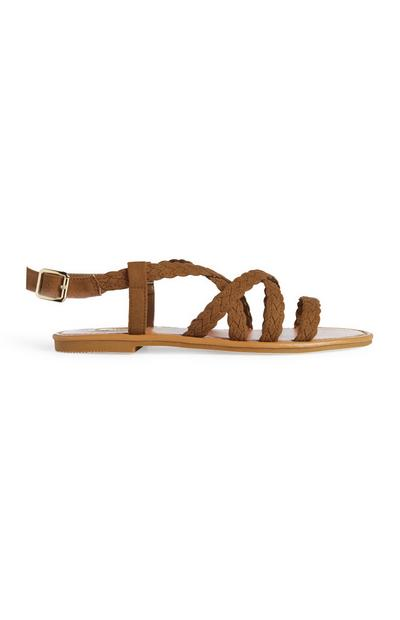 Tan Gladiator Sandal